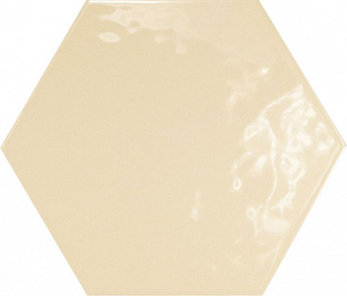 Hexatile Crema Brillo