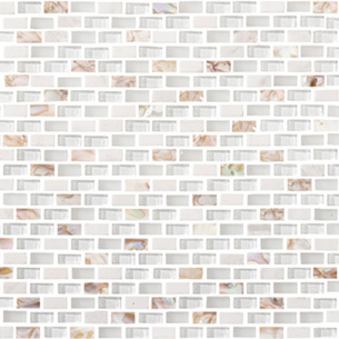 LANTIC COLONIAL  L244001101 Tribal Pearl White (1x2)