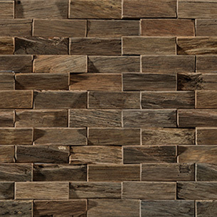 L241710201 Wood Brick Antique