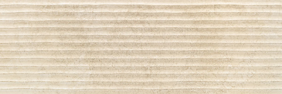 PORCELANITE DOS  9516 Rect. Crema Relieve