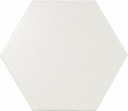 Hexagon White Matt