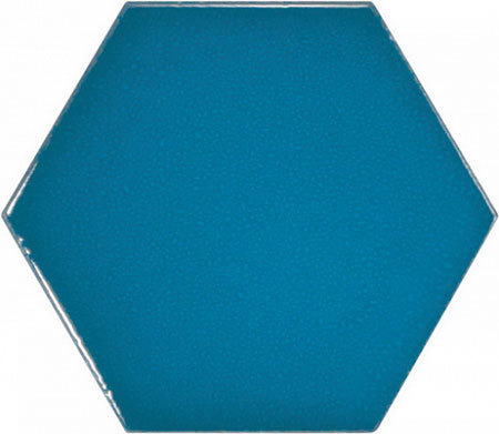 Hexagon Electric Blue