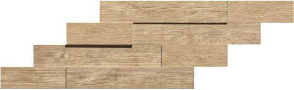 Axi Golden Oak Brick 3d