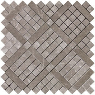 Marvel Grey Fleury Diagonal Mosaic