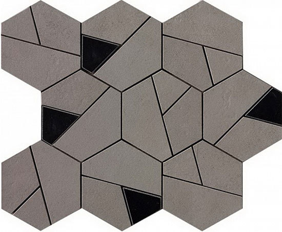 Boost Smoke Mosaico Hex Black