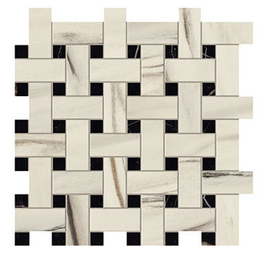 Marvel Bianco Fantastico Basket Weave Matt